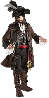 Grand Heritage Caribbean Pirate Costume