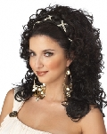 Grecian Goddess Wig Dark Brown