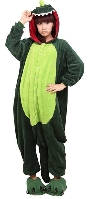 Green Dragon Onesie Adult Costume