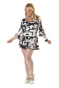 Groovy Chick Plus Size Costume