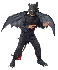 How To Train Your Dragon Toothless Child Costume