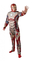 Iron Man 3 Adult Muscle Chest Costume