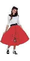 Jitterbug Girl Red Costume