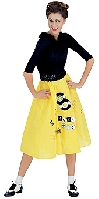 Jitterbug Girl Yellow Costume