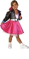 Jukebox Jill 1950s Rock n Roll Child Costume