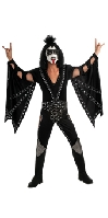 KISS The Demon Adult Deluxe Costume