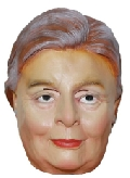 Latex Presidential Candidate Hilary Clinton Mask
