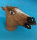 Latex overhead Horse Mask