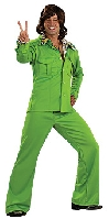 Lime Leisure Suit Costume