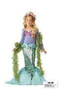 Little Mermaid Child Costume