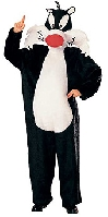 Looney Tunes Sylvester Adult Costume