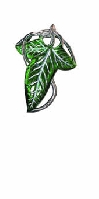 Lord of the Rings Elven Leaf Brooch