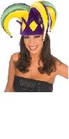 Mardi Gras Royale Jesters Hat
