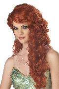 Mermaid Auburn Wig