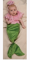 Mermaid Bunting Costume