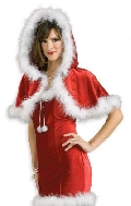 Mrs Claus Christmas Capelet