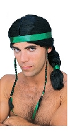 Native American Male wig black