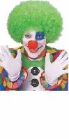 Neon Green Clown Wig