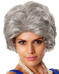 Old Lady Grey Nanna Wig