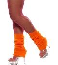 Orange Legwarmers