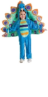Peacock Toddler Costume