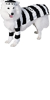 Pet Costume Prisoner Dog