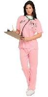 Pink ER Nurse Costume