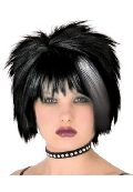 Pristine Punk Wig Black