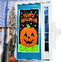 Pumpkin Door Cover