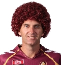 QLD Maroons Afro Wig