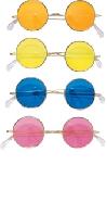 Round Glasses Yellow lens