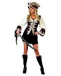 Royal Lady Pirate Costume