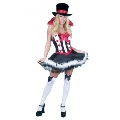 Royal Red Queen of Hearts with Stockings Costume