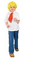 Scooby Doo Fred Jones Child Costume