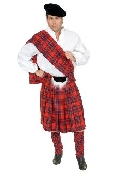 Scottish Kilt Plus Size Costume