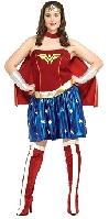 Secret Wishes Full Figure Wonder Woman Deluxe Costume
