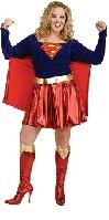 Secret Wishes Supergirl Full Figure Costume