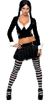 Secret Wishes Wednesday Addams Deluxe Costume