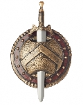 Spartan Combat Shield 12inch
