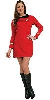 Star Trek Classic Deluxe Red Dress Uhura Costume