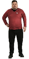 Star Trek Movie Scotty Deluxe Plus Size Costume
