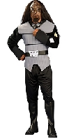 Star Trek Next Generation Deluxe Klingon Male Adult Costume