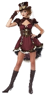 Steampunk Girl Costume