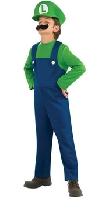 Super Mario Bros Child Luigi Costume