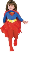 Supergirl Classic Deluxe Child Costume