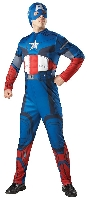 The Avengers Captain America Adult Costume