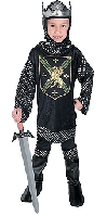 Warrior King Child Costume