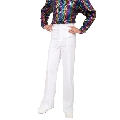 White Disco pants Costume