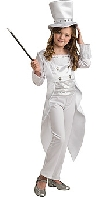White Magician Child Costume