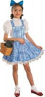 Wizard of Oz Child Dorothy Costume